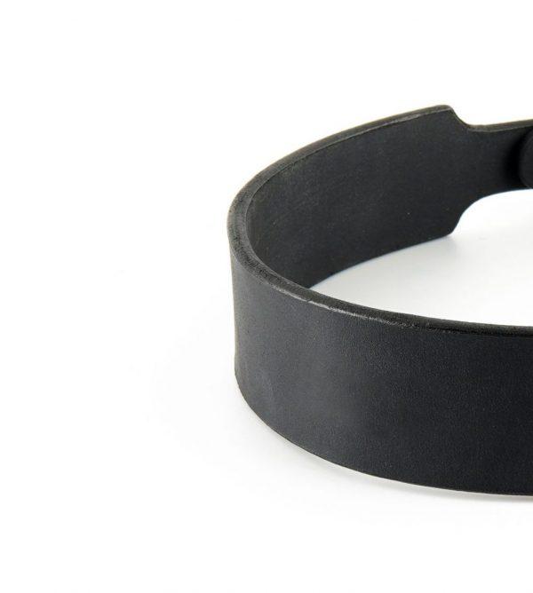 Lederhalsband details