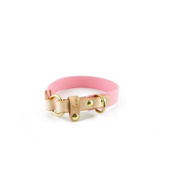 rosa Biothane Halsband